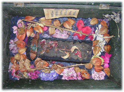 Lizard Memory Box - inside